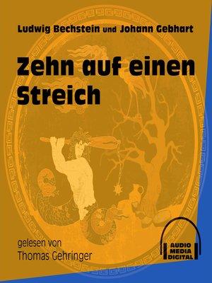cover image of Zehn auf einen Streich