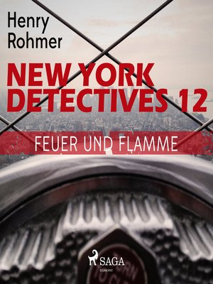 cover image of Feuer und Flamme--New York Detectives 12