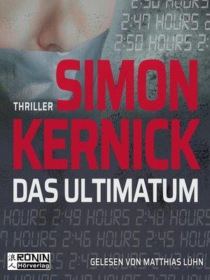 cover image of Das Ultimatum