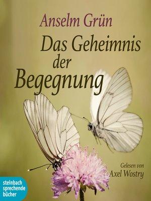 cover image of Das Geheimnis der Begegnung