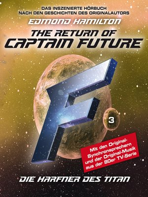 cover image of Captain Future, Folge 3