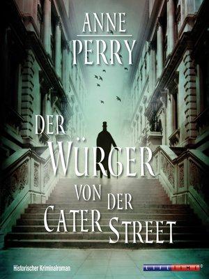 cover image of Der Würger von der Cater Street