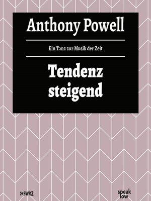cover image of Tendenz steigend--Ein Tanz zur Musik der Zeit, Band 2