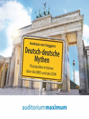 cover image of Deutsch-deutsche Mythen