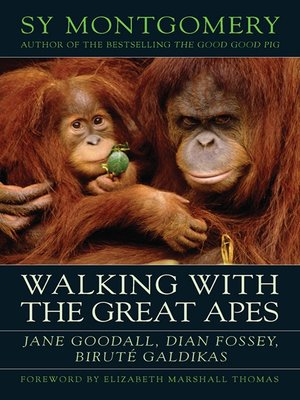 cover image of Walking with the Great Apes