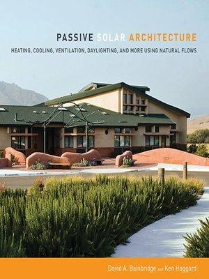 cover image of Passive Solar Architecture