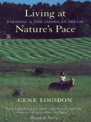 cover image of Living at Nature's Pace