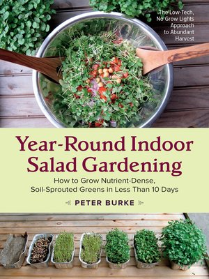 cover image of Year-Round Indoor Salad Gardening