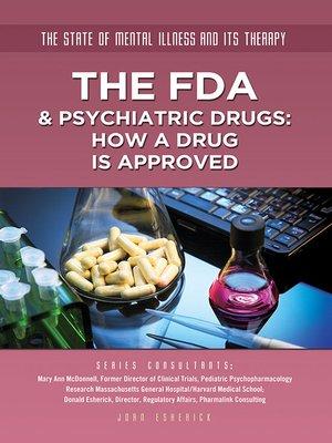 cover image of The FDA & Psychiatric Drugs