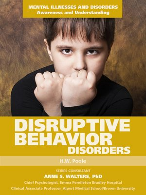 cover image of Disruptive Behavior Disorders