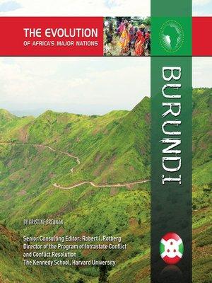 cover image of Burundi