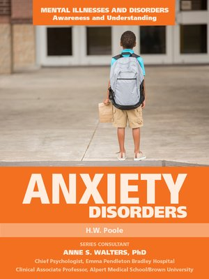 cover image of Anxiety Disorders