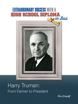 cover image of Harry Truman