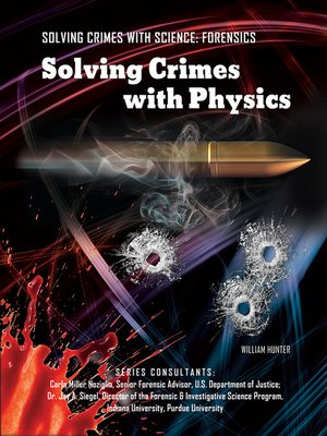 cover image of Solving Crimes with Physics