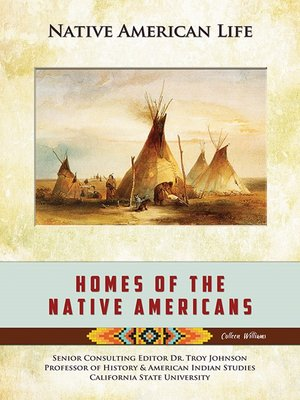cover image of Homes of the Native Americans