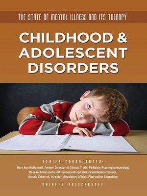 cover image of Childhood & Adolescent Disorders