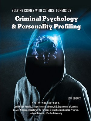cover image of Criminal Psychology & Personality Profiling