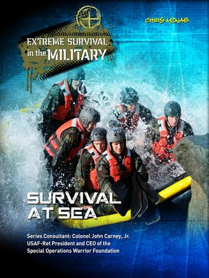 cover image of Survival at Sea