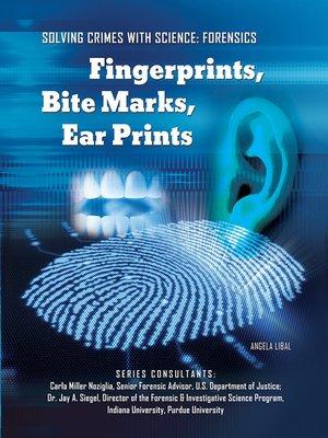 cover image of Fingerprints, Bite Marks, Ear Prints