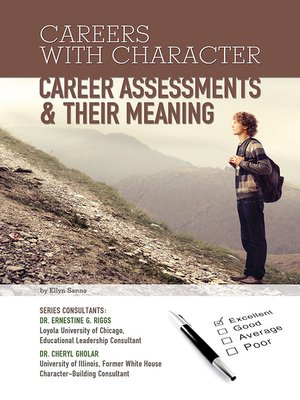cover image of Career Assessments & Their Meaning