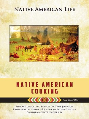 cover image of Native American Cooking