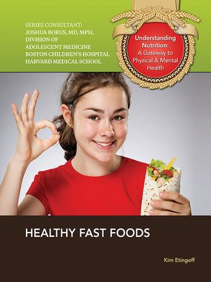 cover image of Healthy Fast Foods