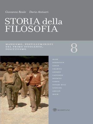 cover image of Storia della filosofia--Volume 8