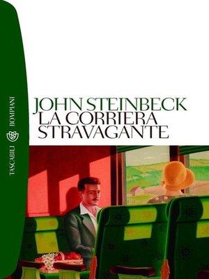 cover image of La corriera stravagante