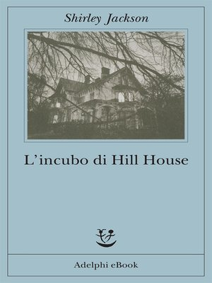 cover image of L'incubo di Hill House