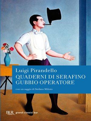 cover image of Quaderni di Serafino Gubbio operatore