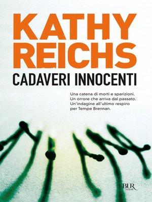 cover image of Cadaveri innocenti