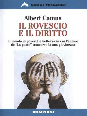 cover image of Il rovescio e il diritto