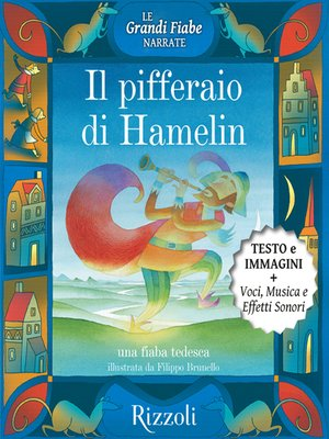 cover image of Il pifferaio di Hamelin--Una fiaba tedesca