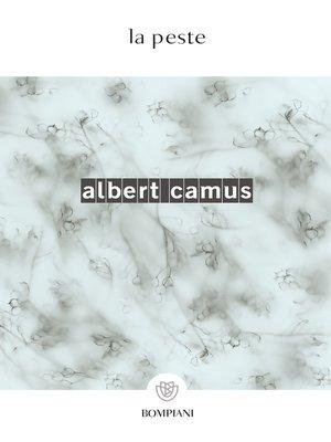 cover image of La peste