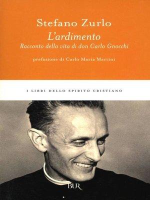 cover image of L'ardimento