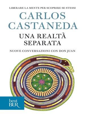 cover image of Una realtà separata