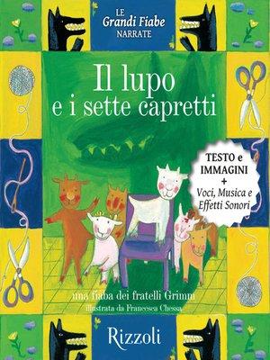 cover image of Il lupo e i sette capretti