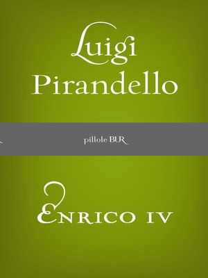 cover image of Enrico IV