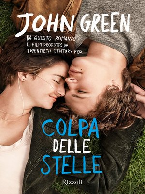 cover image of Colpa delle stelle