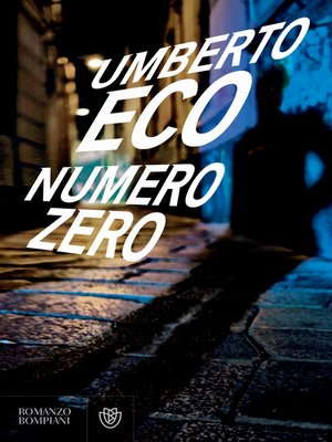 cover image of Numero zero