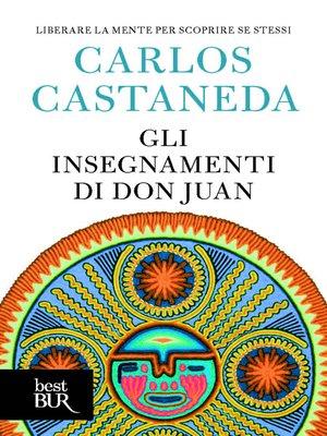 cover image of Gli insegnamenti di Don Juan