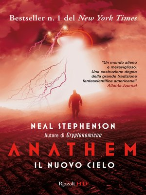 cover image of Anathem. Il nuovo cielo