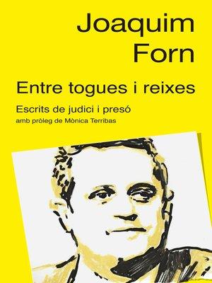 cover image of Entre togues i reixes