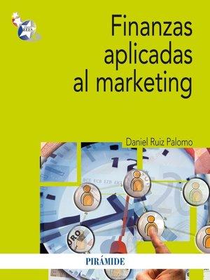 cover image of Finanzas aplicadas al marketing
