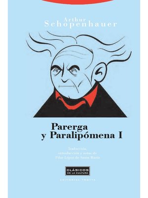 cover image of Parerga y paralipómena I