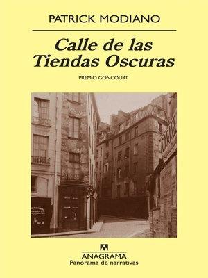 cover image of Calle de las Tiendas Oscuras