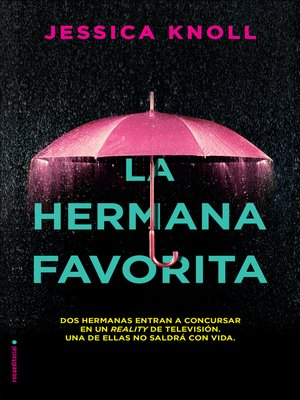 cover image of La hermana favorita