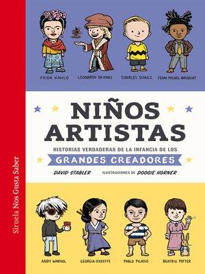 cover image of Niños artistas