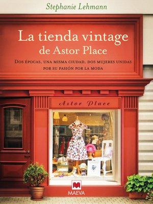 cover image of La tienda vintage de Astor Place