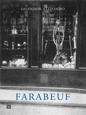 cover image of Farabeuf